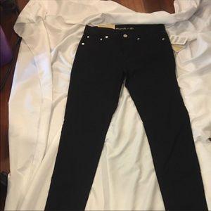Michael Kors Black Selma Skinny Jeans Black sz 2